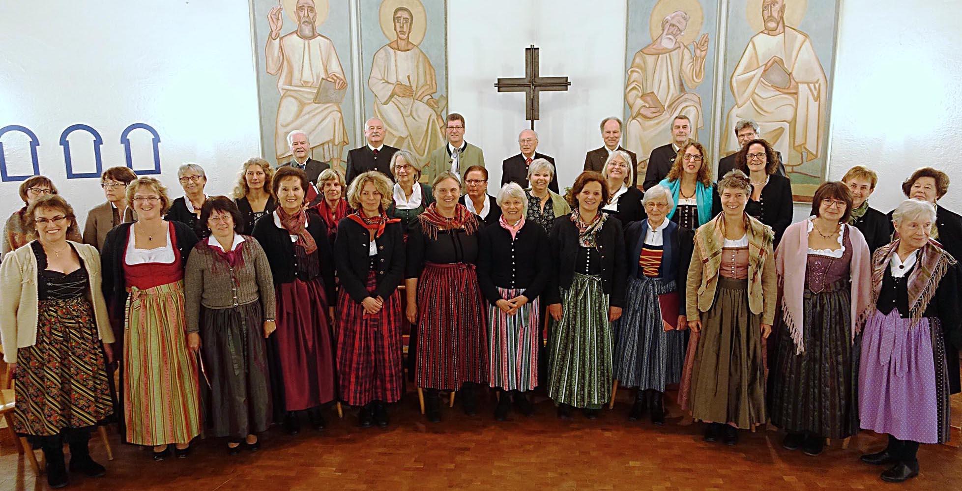 04. 12. 2016 - nach unserem Adventskonzert in der Evangelischen Kirche, Grafing