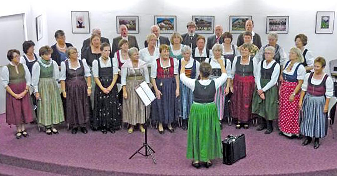 2011 - Launiger Herbstabend zum Zuhören und Mitsingen, in der Stadtbücherei Grafing