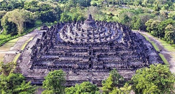 Der Borobudur (Foto aus dem Internet).