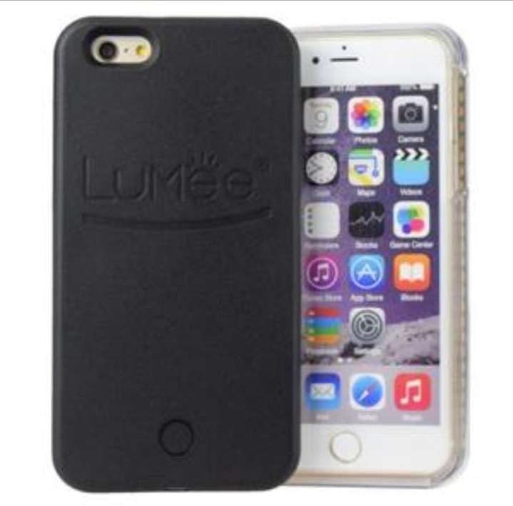 coques iphone 6 6s lumineuse noire led style lumee. Black Bedroom Furniture Sets. Home Design Ideas