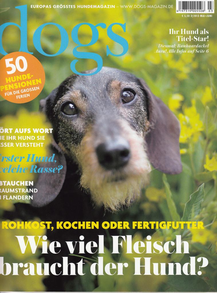 DOGS - Europas grösstes Hundemagazin/ 2013 Mai-Juni