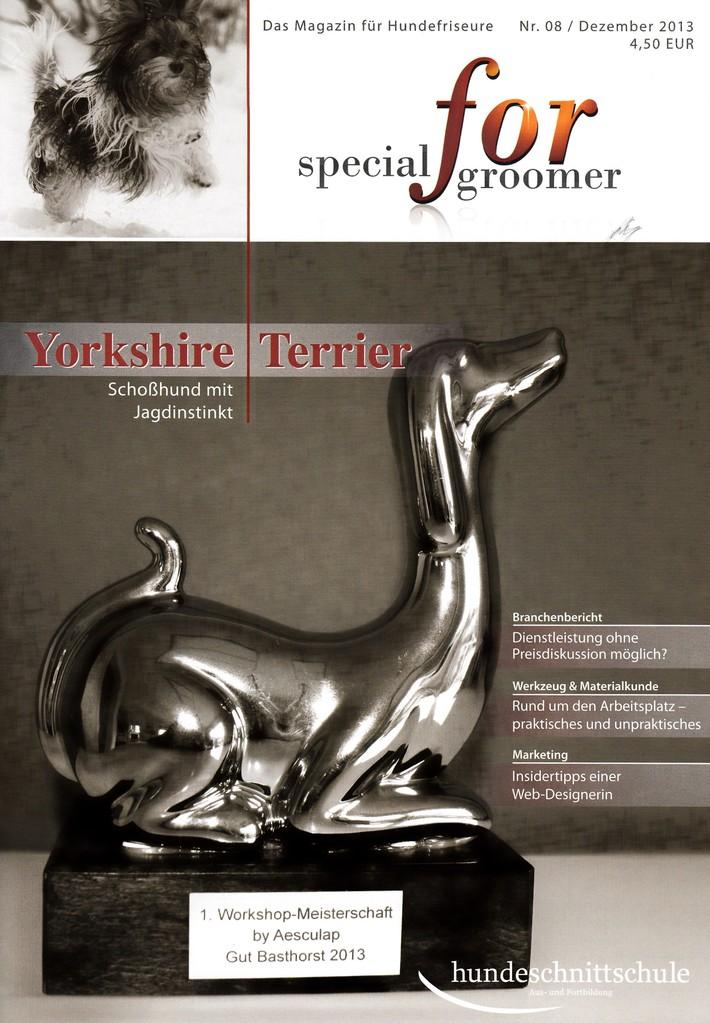 special for groomer / Dezember 2013