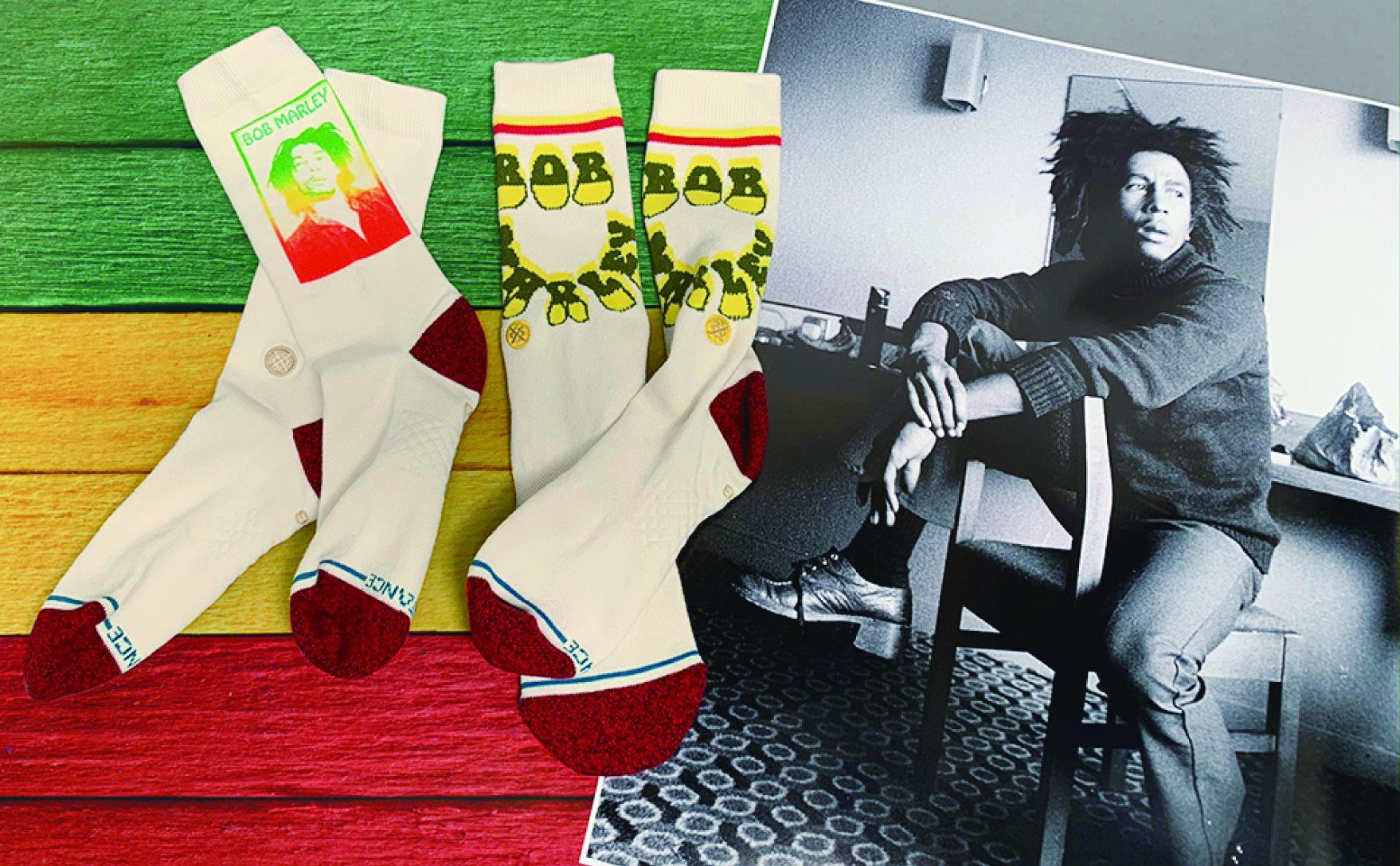レゲエ音楽の神様ボブ・マーリーとのコラボモデルは、素材に 麻をブレンドした1足。最新モデルをギフト!価格は3,850円