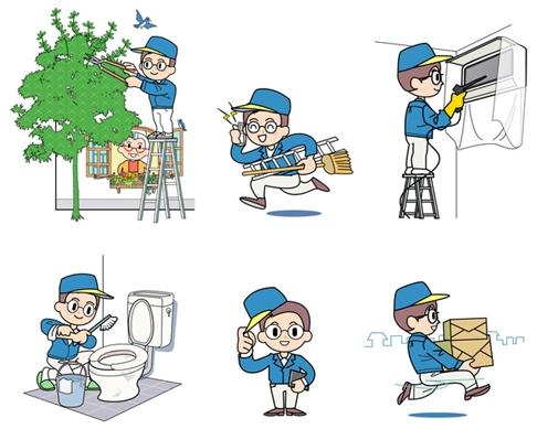 草加 部屋片づけ ゴミ屋敷清掃 便利業務