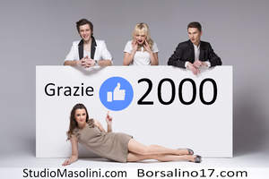 Oltre 2000 followers su facebook