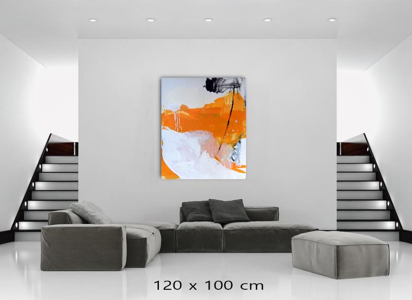 abstraktes gelbes Bild