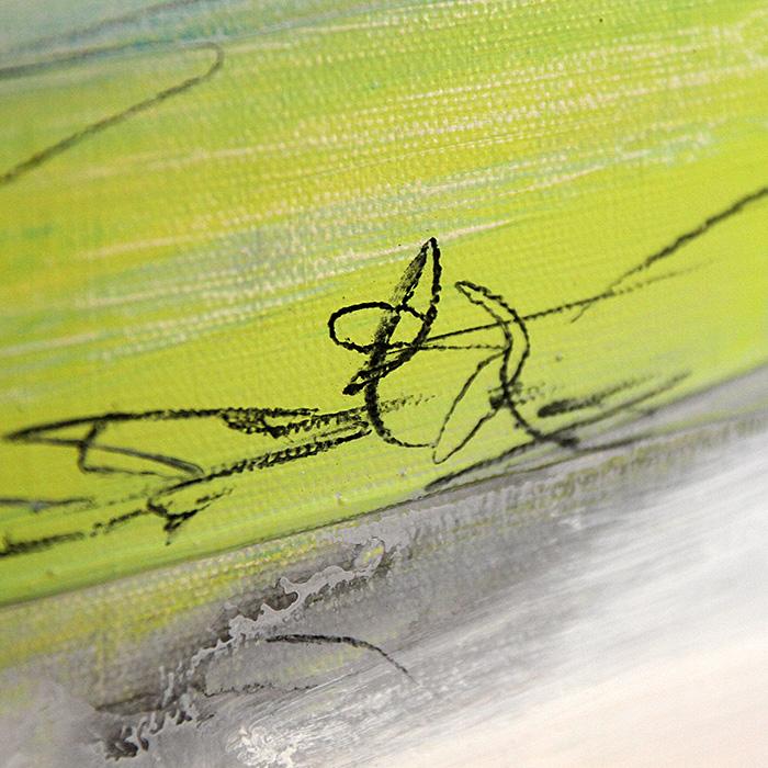 detail grünes Bild