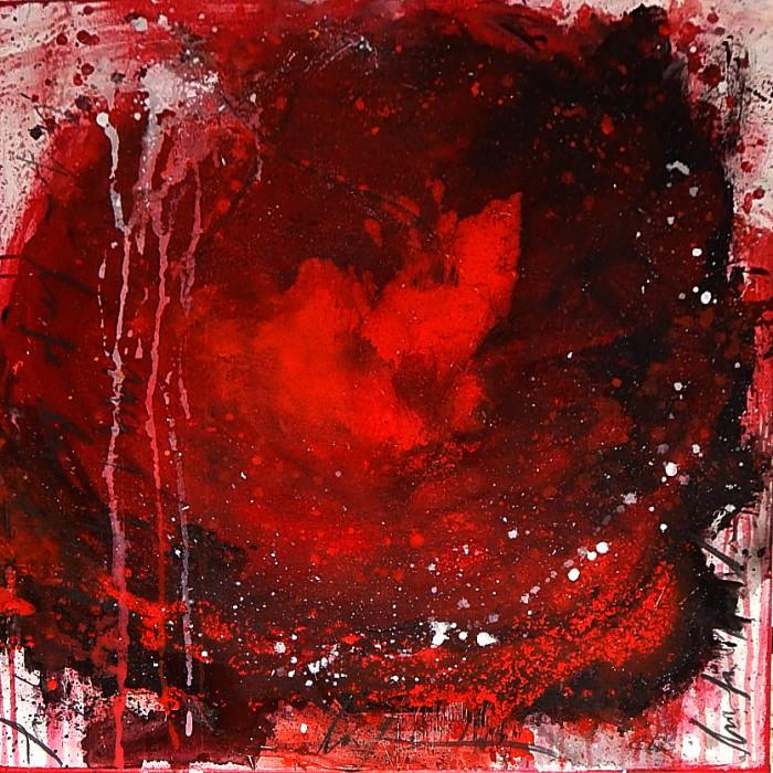 rotes Bild - Engel der tiefen Liebe