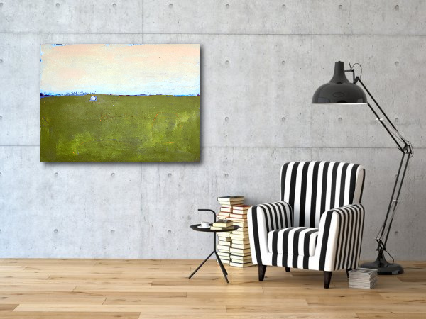 abstraktes Bild: Entspannte Stimmung