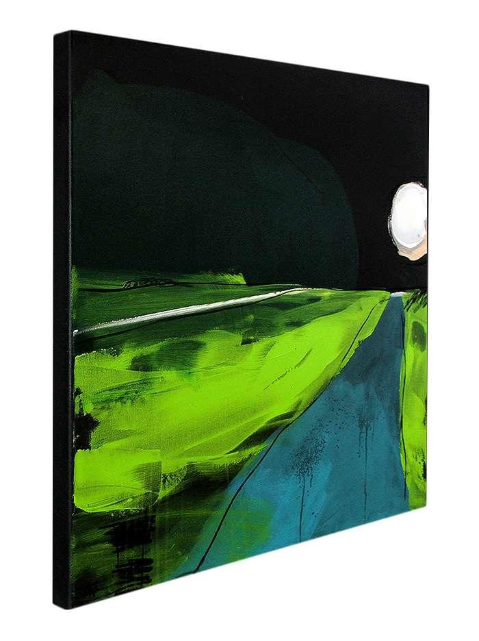 Bild in schwarz und grün