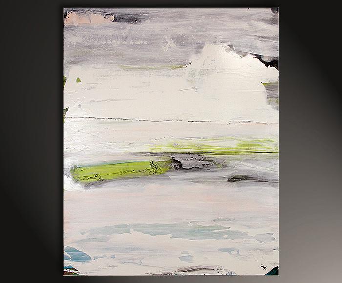 abstrakte Malerei Kunst weiß