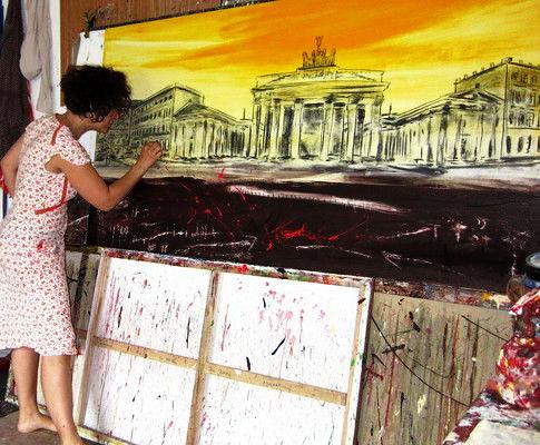 Berlin gemalt - Brandenburger Tor