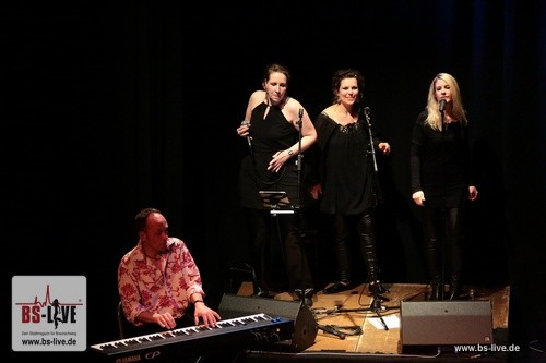 Eric Clapton tribute Braunschweig Malaika Lehner, Nicole und Conny Wachsmann