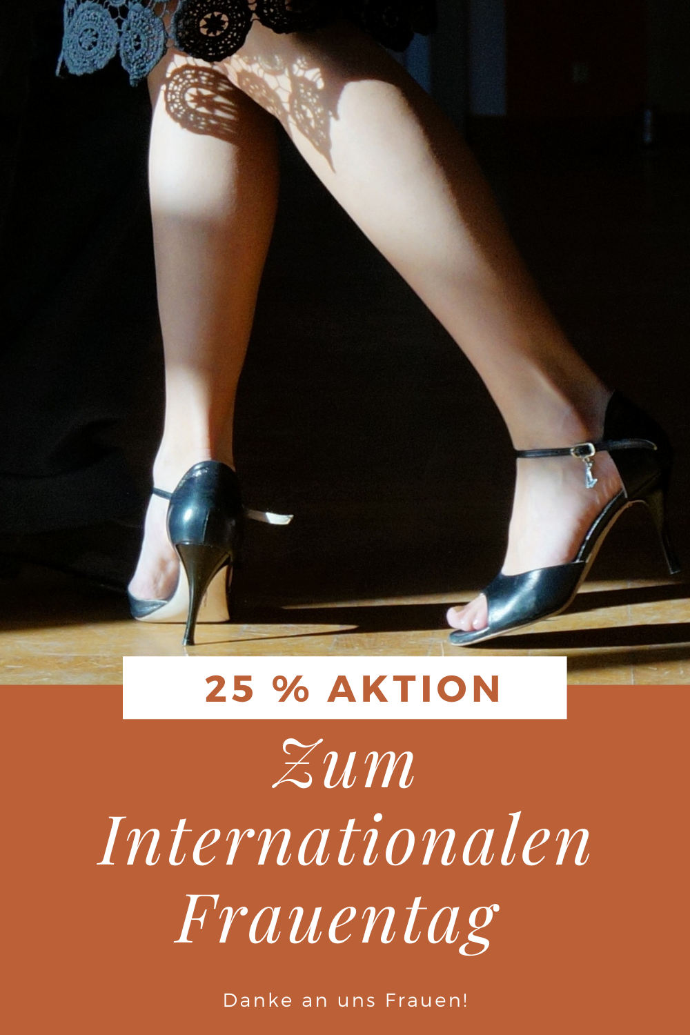 Internationaler Frauentag 25 % Aktion