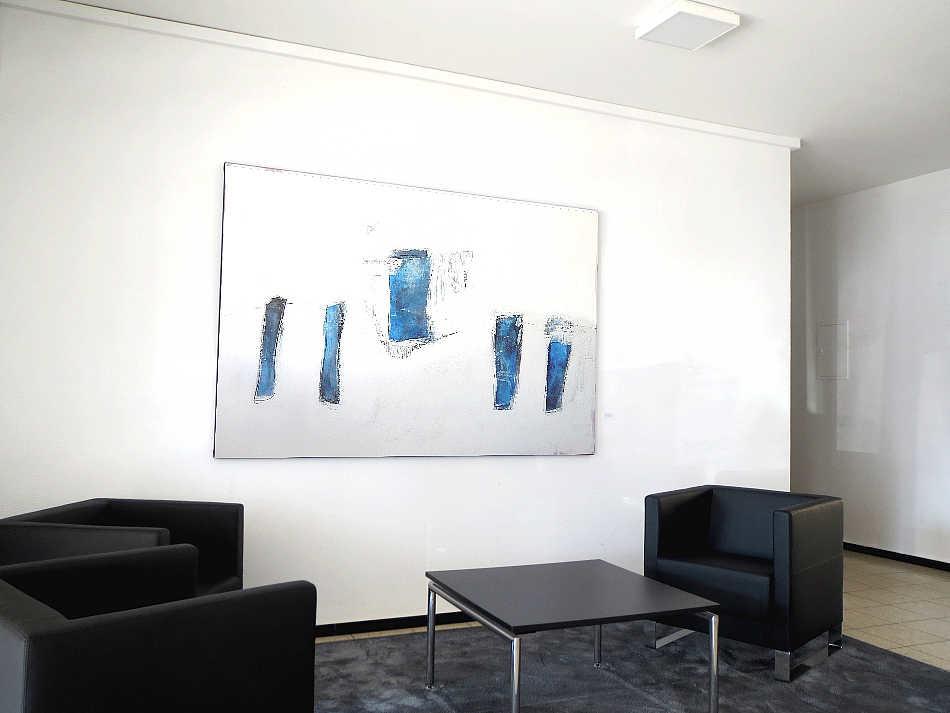 So sieht das eine Bild im Eingangsbereich der Firma aus.
