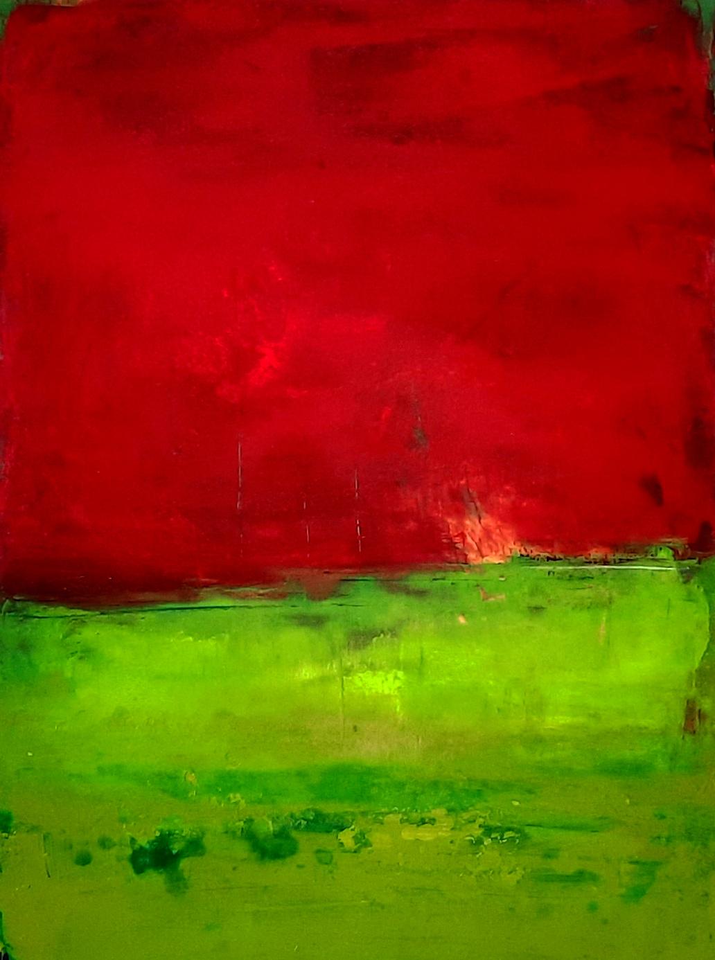 60 x 80 cm Abstrakte Landschaft