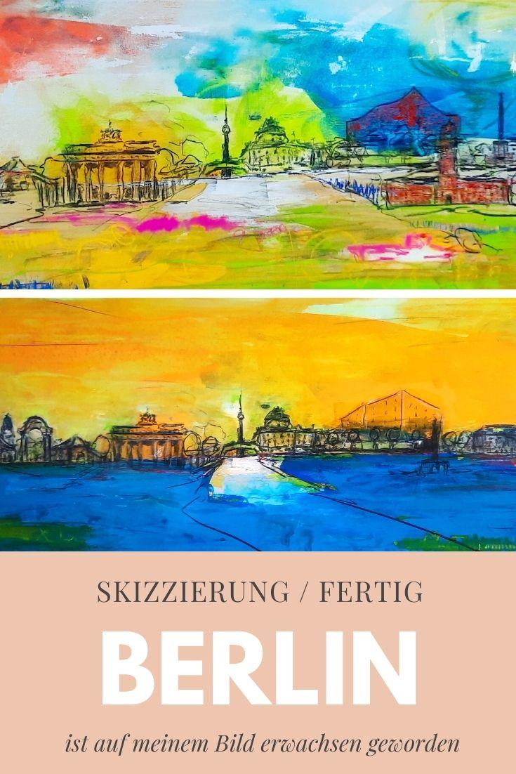 Wahrzeichen von Berlin - Regenbogenfarben