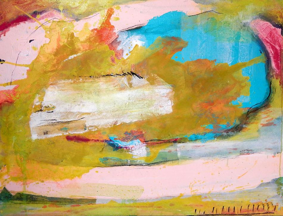 abstraktes Bild See
