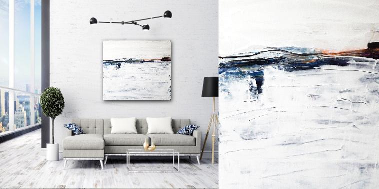 weißes bilder wohnzimmer