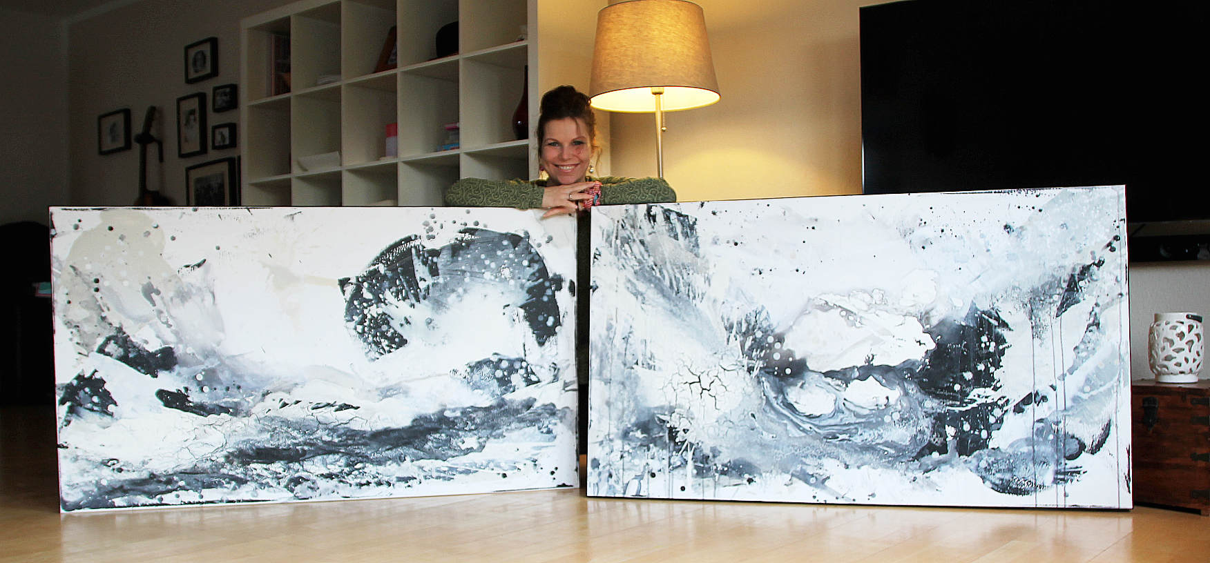 künstlerin bilder in schwarzweiss