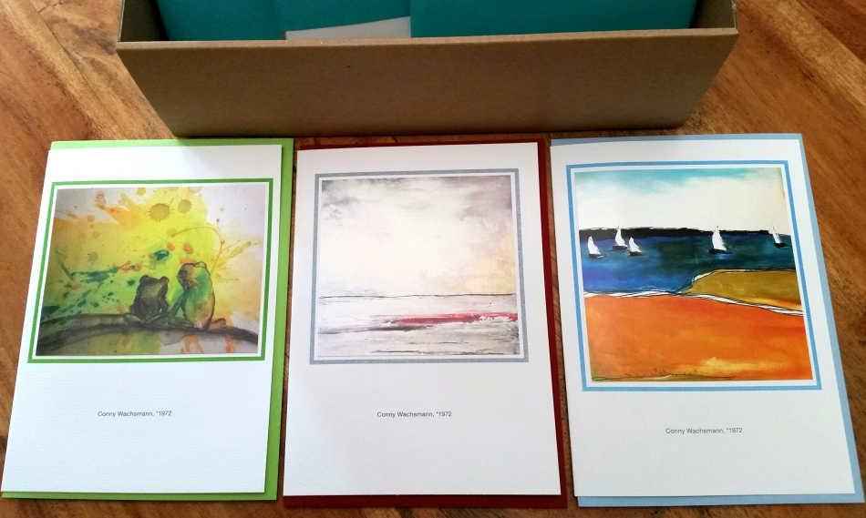 Kunst-Postkarten von conny Wachsmann