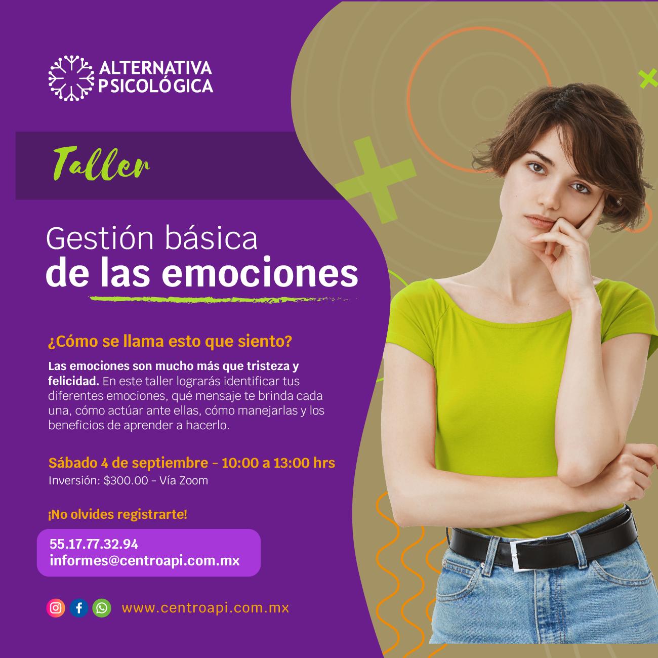 Taller: Gestión básica de las emociones