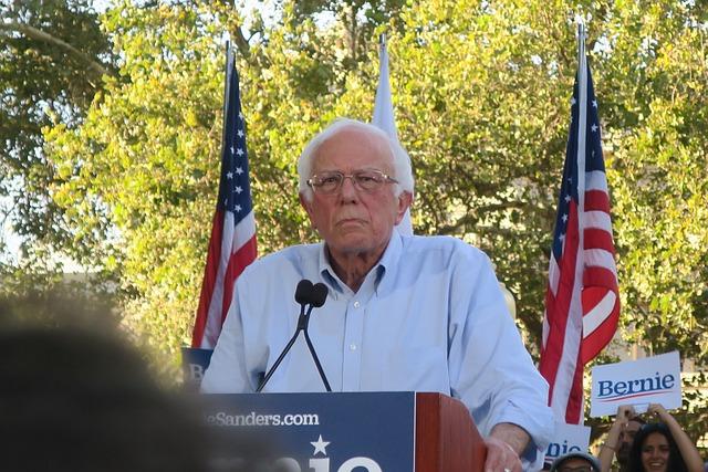 Bernie Sanders großer Auftritt bei der Amtseinführung von Joe Biden
