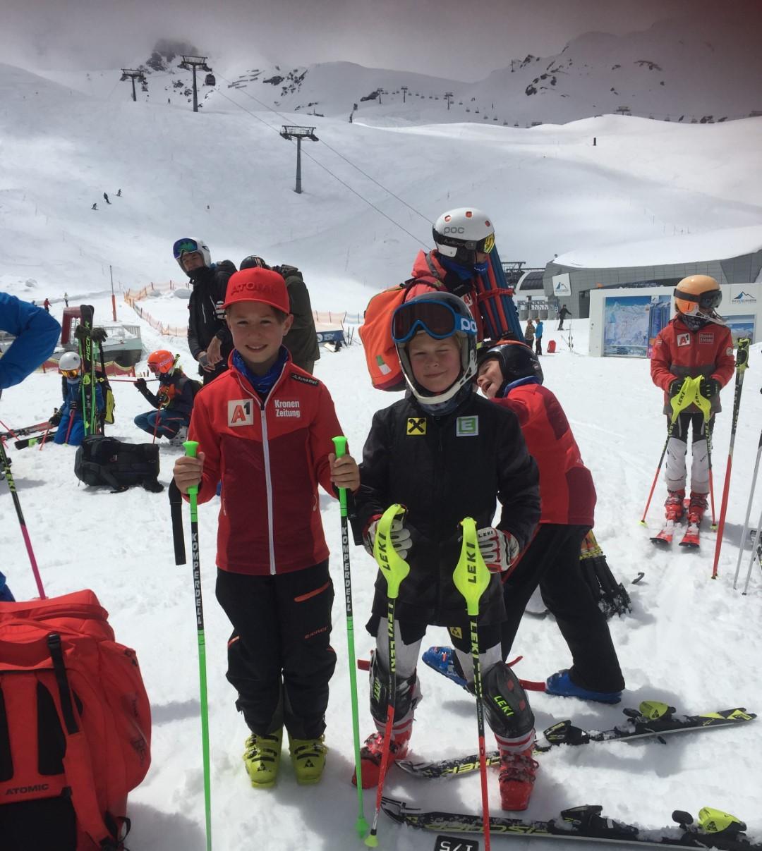 Trainingskurs am Kitzsteinhorn