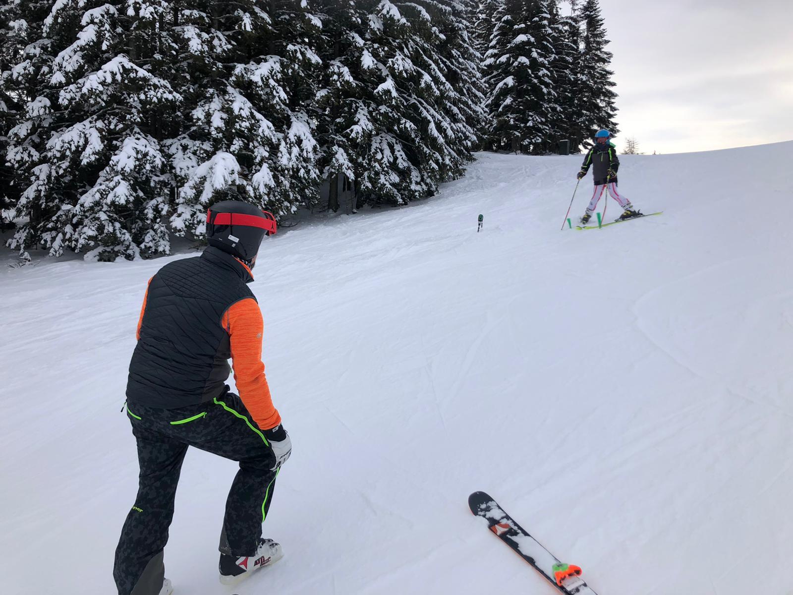 Alleine Schifahren - WSV Trainingslauf nutzen