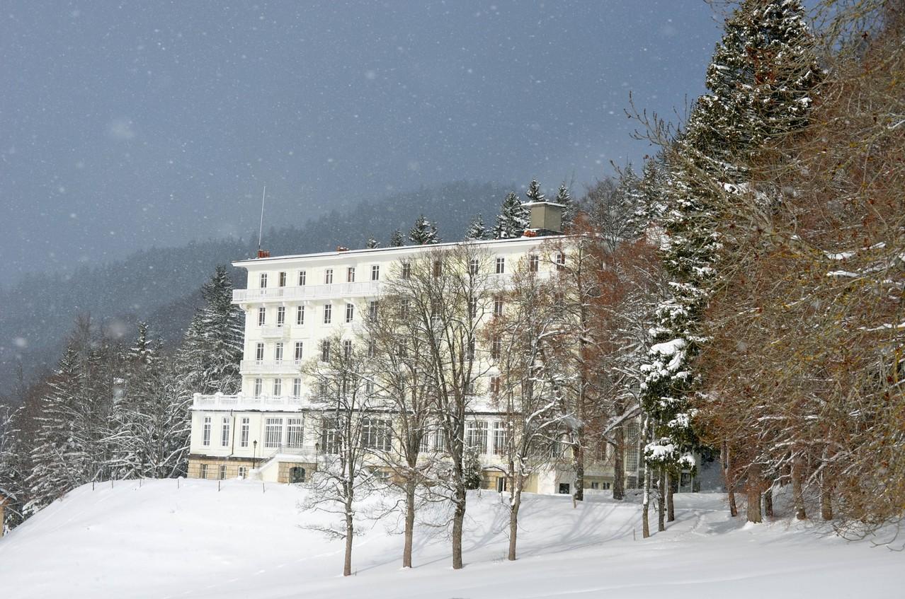 Le Grand Hôtel, fleuron de l'architecture pontounaise