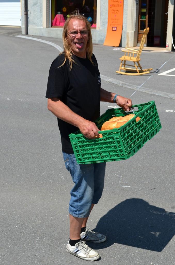 SlowUp - Le bon pain du Président