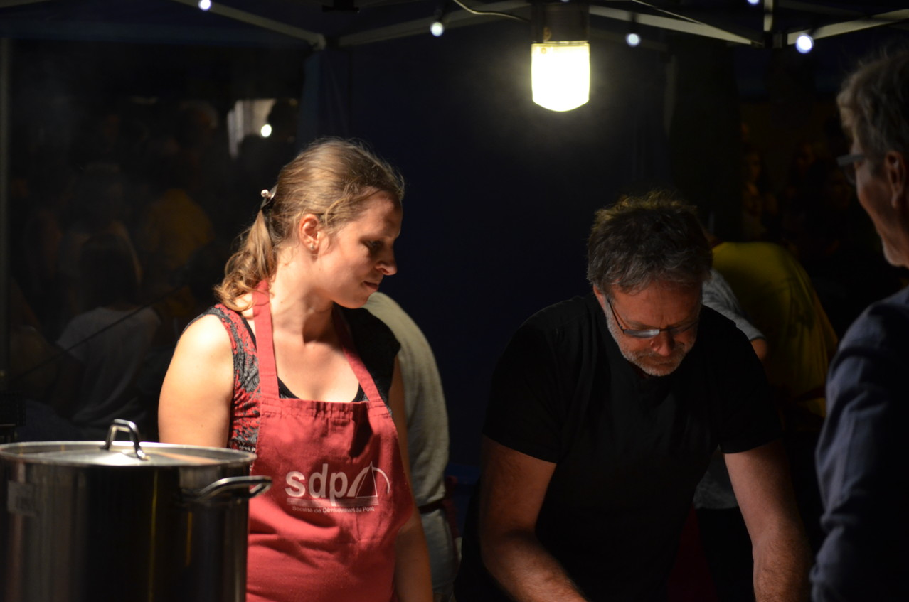 1er août - Agathe again et Luc en renfort