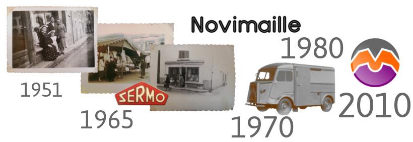 portail découvrez l'histoire du magasin Novimaille