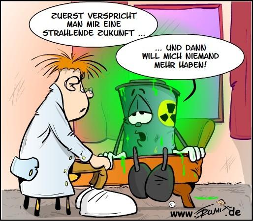 Keiner mag den Atommüll lagern