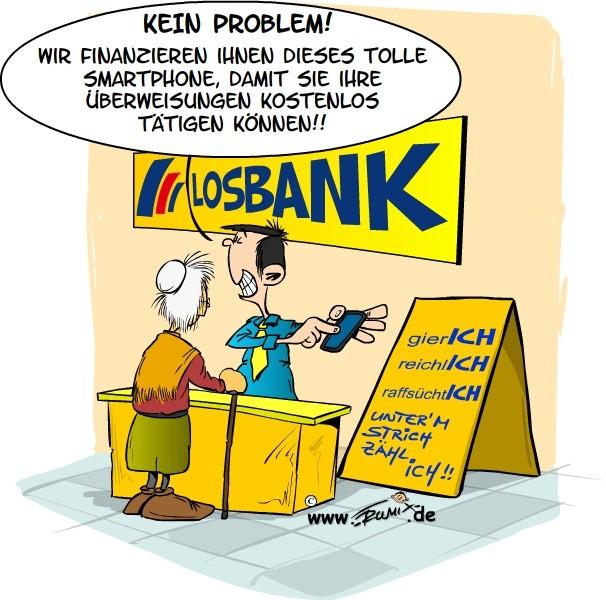 Die Postbank erhebt 99 Cent gebühren für beleghafte Überweisungen