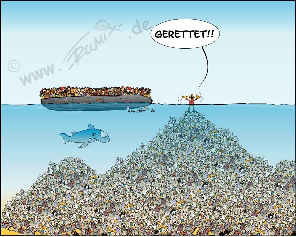 Die Spitze vom berühmten Eisberg.