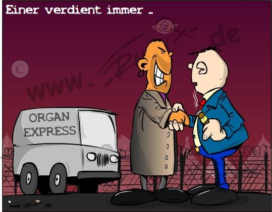 Keine Nachschubsorgen für den Organhandel