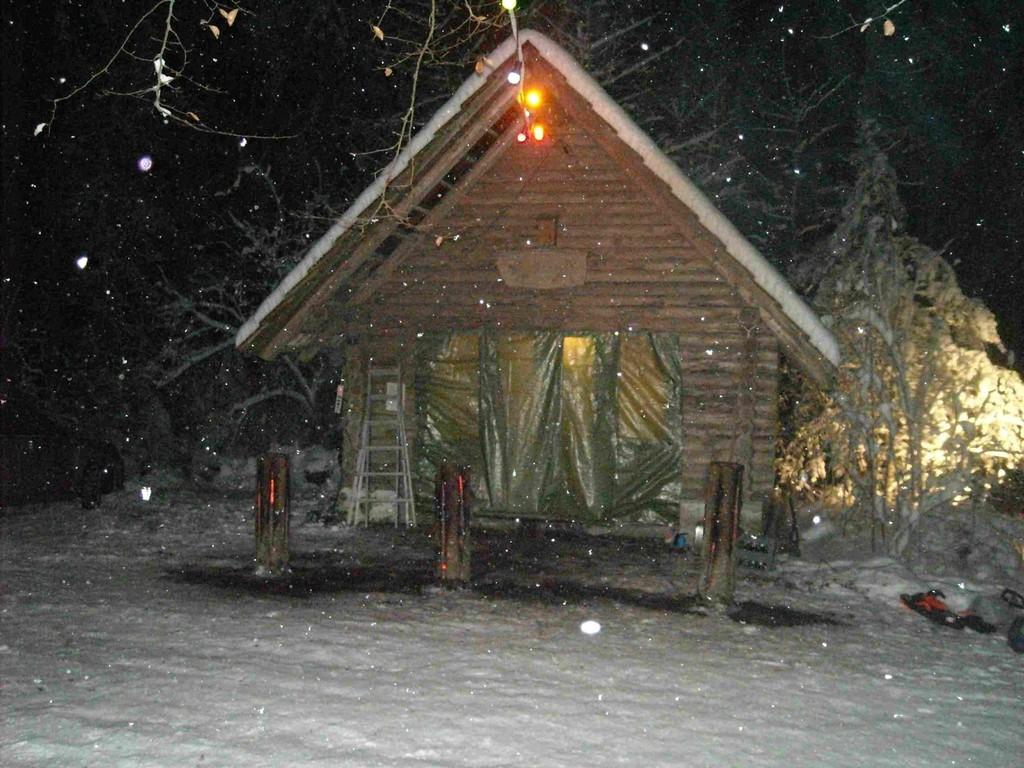 Und es schneite und schneite...