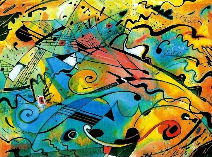 Strings, 2003 (Mischtechnik)
