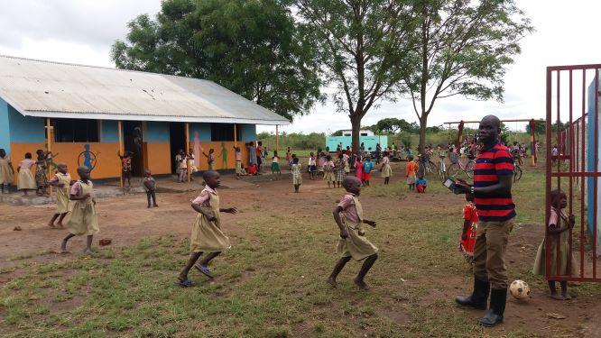 La scuola di Ojama dopo la ristrutturazione del 2020
