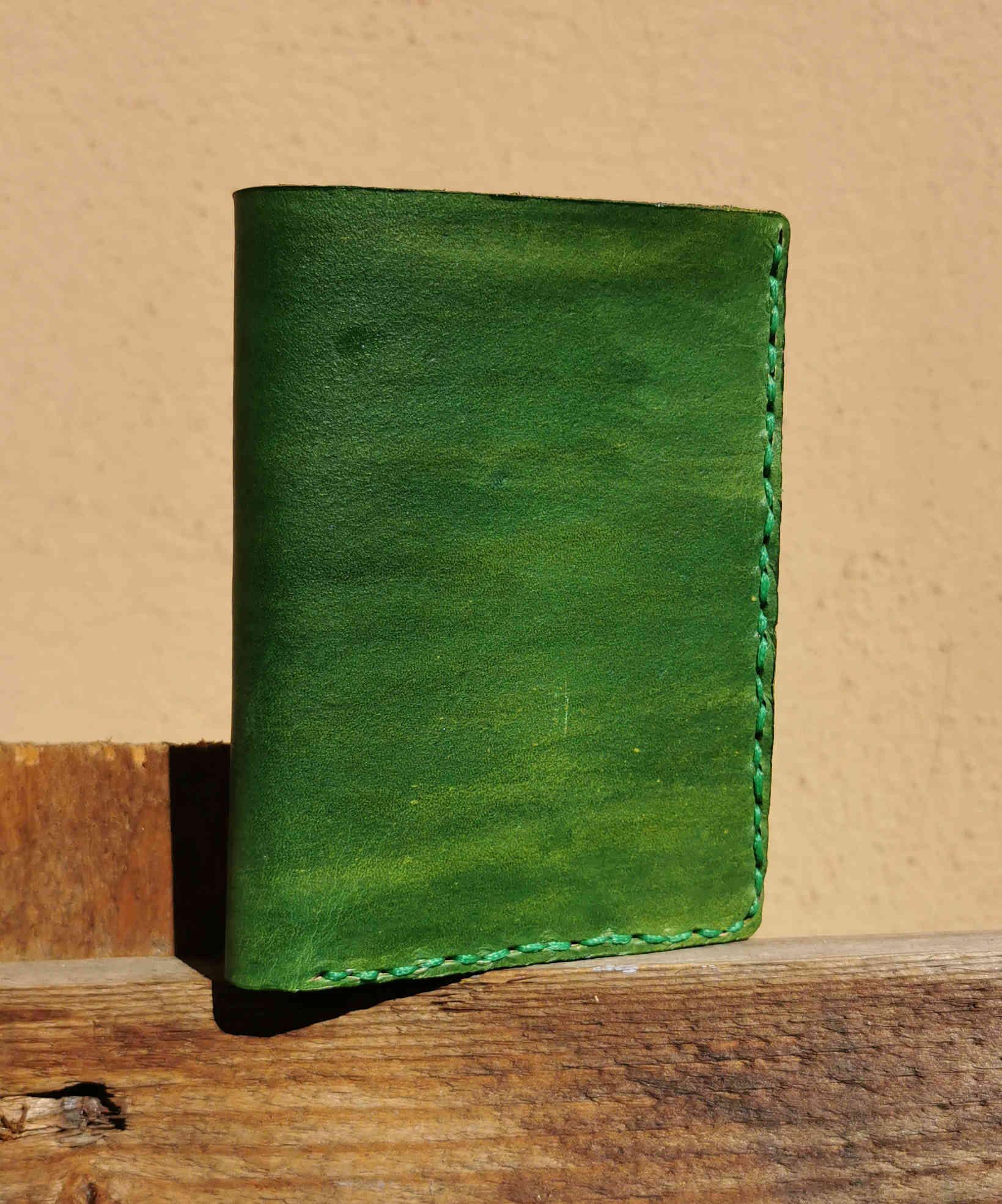 portafogli verde