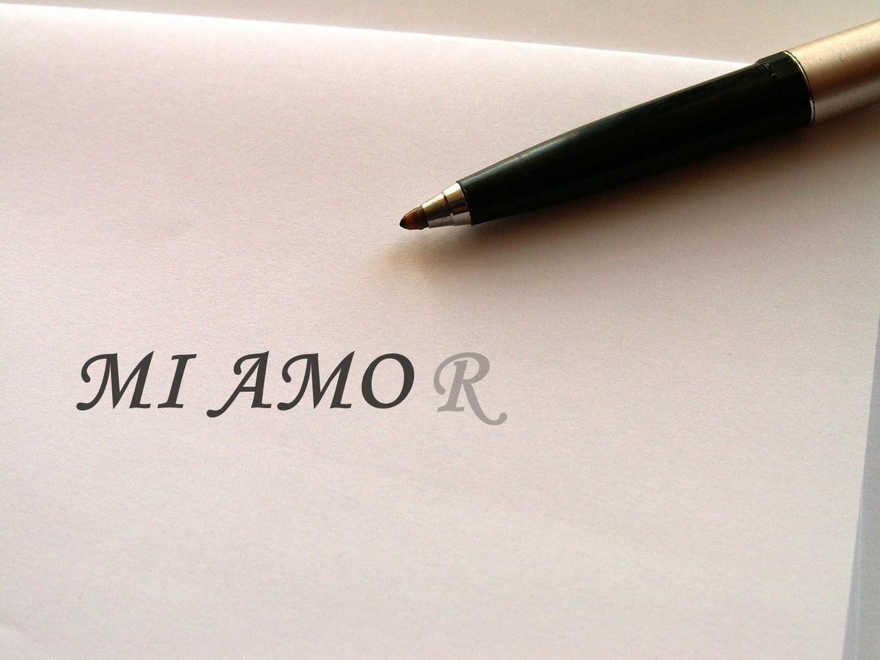 Mi amo(r), por Alessandra Sánchez