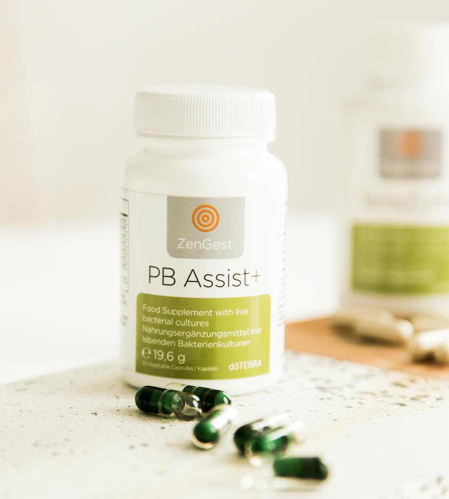 Verbesserung der Darmgesundheit mit probiotischen und präbiotischen Ergänzungsmitteln
