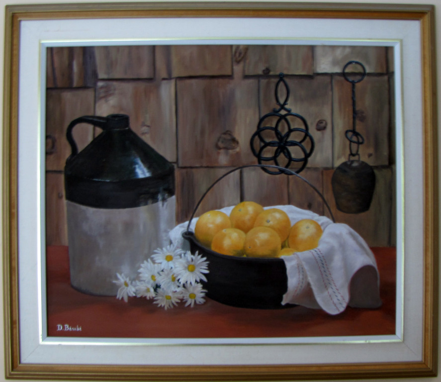 Peinture à l'huile (24x26 po) (61x66cm)