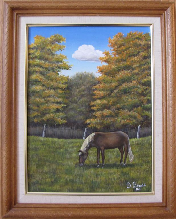 Peinture à l'huile (12x16 po) (31x41 cm)