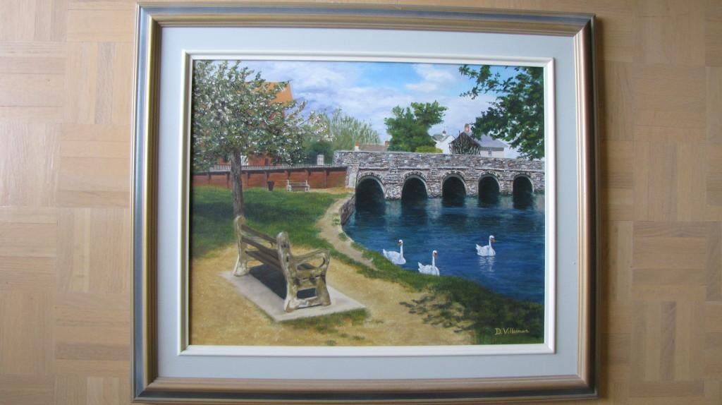 Peinture à l'huile (16x20 po) (41x51 cm)