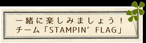 チーム STAMPIN' FLAG