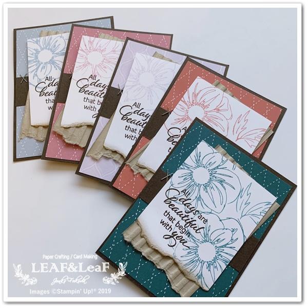 floral essence 手作りカード