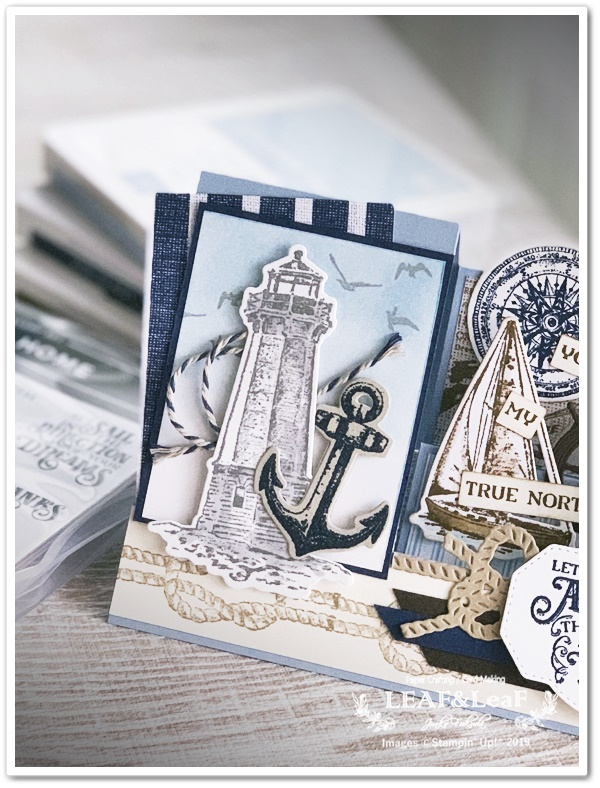 stampin' Up! Sailing home stamp set