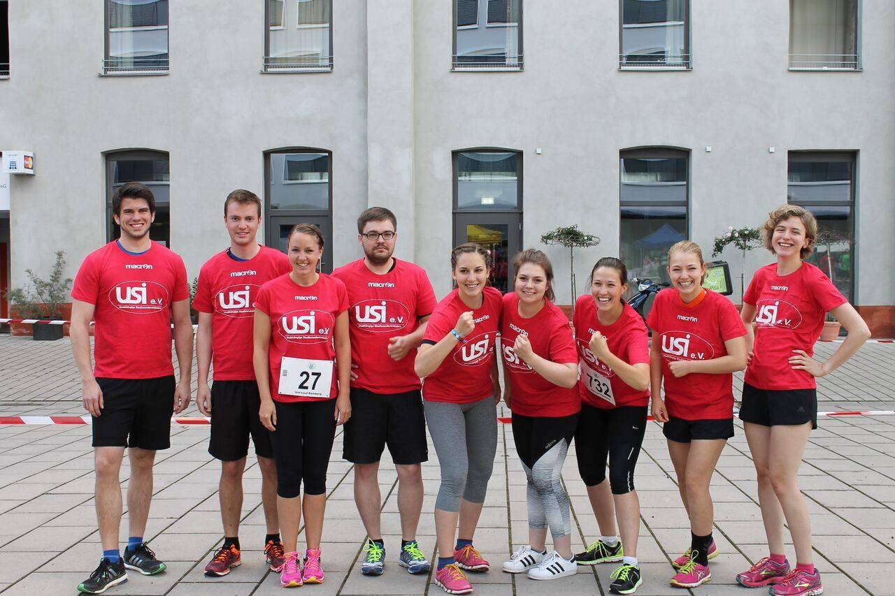 USI Team beim UniLauf 2016